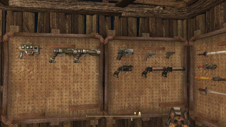 Functional Weapon Racks