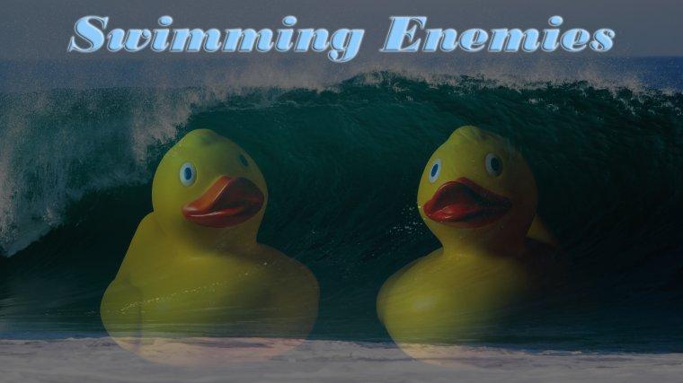 Плавание врагов