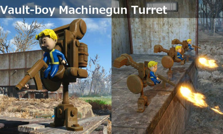 Vault-Boy Turret