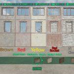 Разноцветный бетон