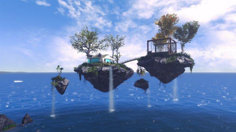 Сорано - плавающие острова