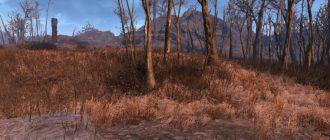 Fallout 4 мод more grass