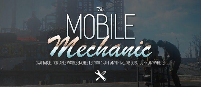 Мобильный механик - переносные Верстаки