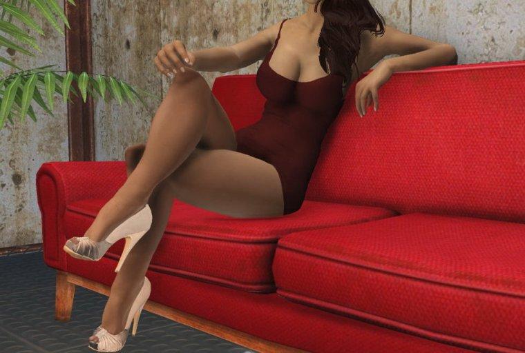 женских анимации сидения