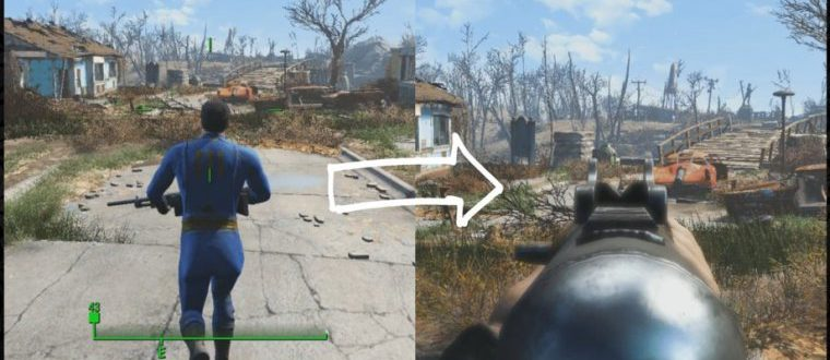 Прицеливание из Metal Gear Solid