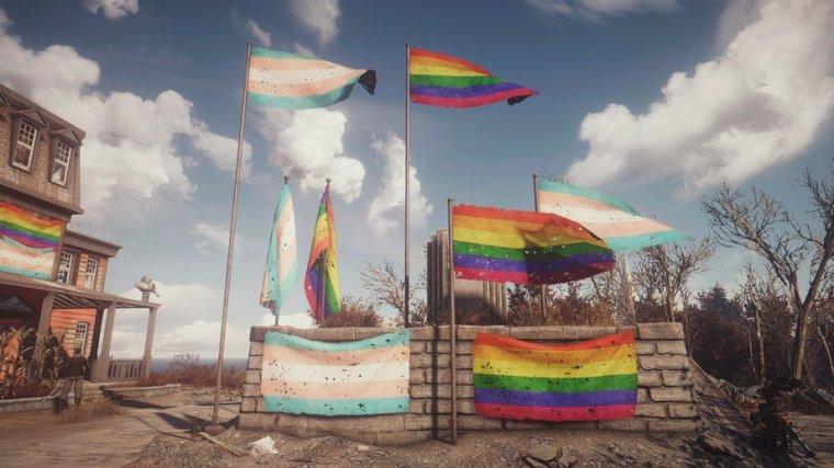 Создаваемые Флаги Pride - Автономные
