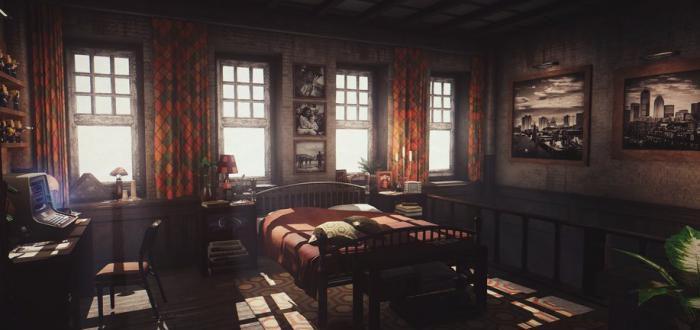 Chestnut Lodge - Дом для игрока для Fallout 4