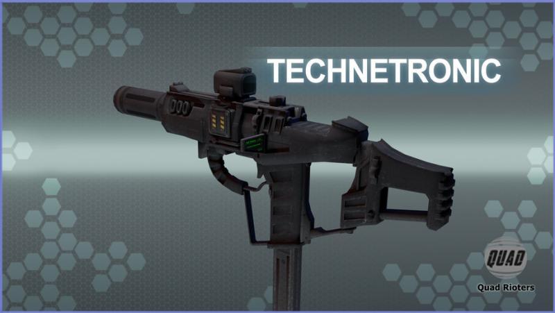 Оружие персональной защиты Технетроника