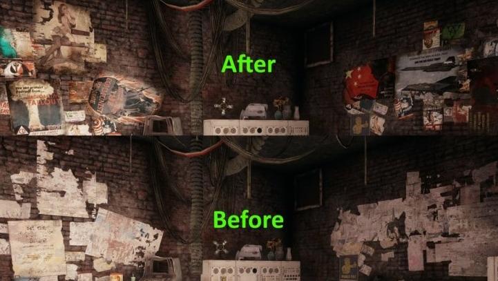 Листовки и плакаты для Fallout 4