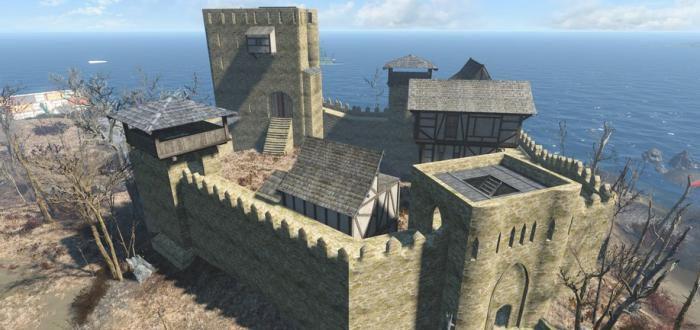 Замок под небом