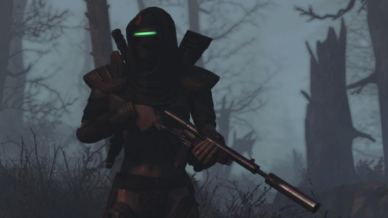 Восстановленная радиальная винтовка для Fallout 4