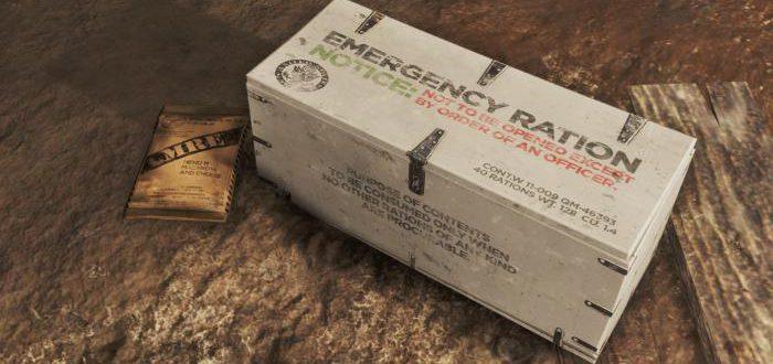Военные MREs - Еда быстрого приготовления