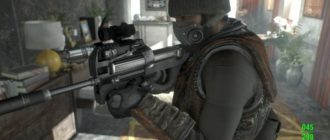 FN P90 для Fallout 4