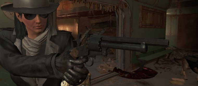 THE LEMAT REVOLVER ДЛЯ FALLOUT 4