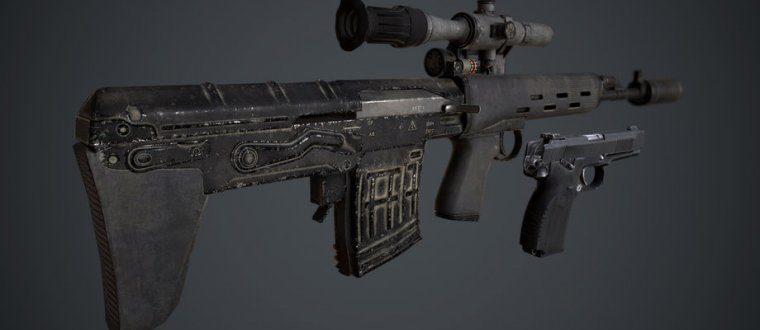 Пак Российской разведки — СВУ и MP443 для Fallout 4
