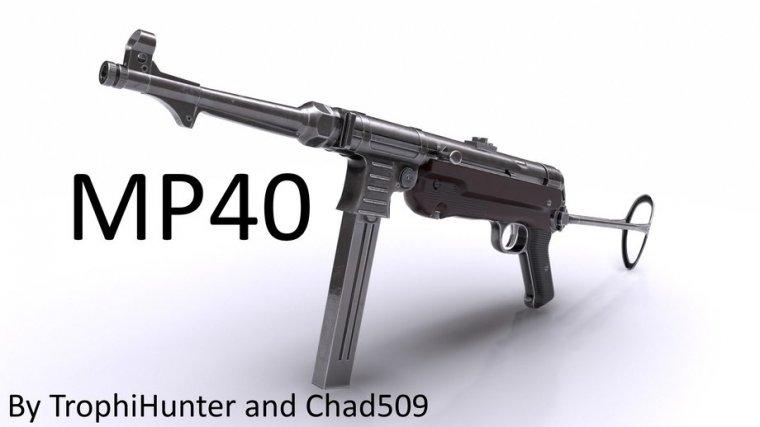MP40 для Fallout 4