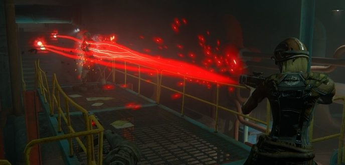 Лазерное оружие BAL - CROSS_Break Action Laser