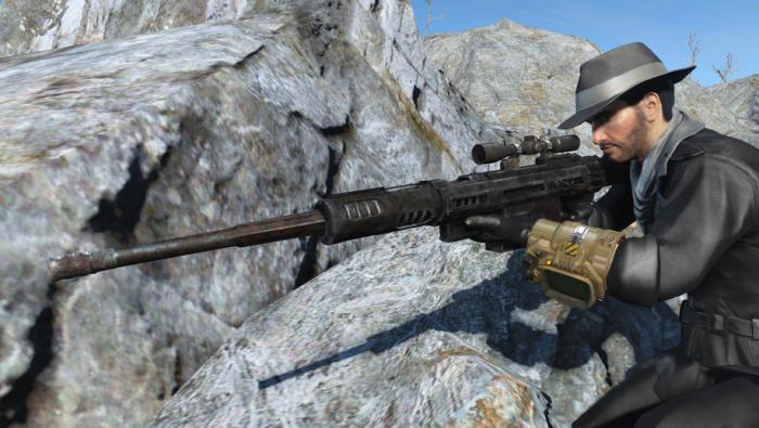 Боевая автоматическая винтовка XM50 50-го калибра
