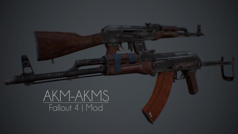 АКМ — Штурмовая винтовка