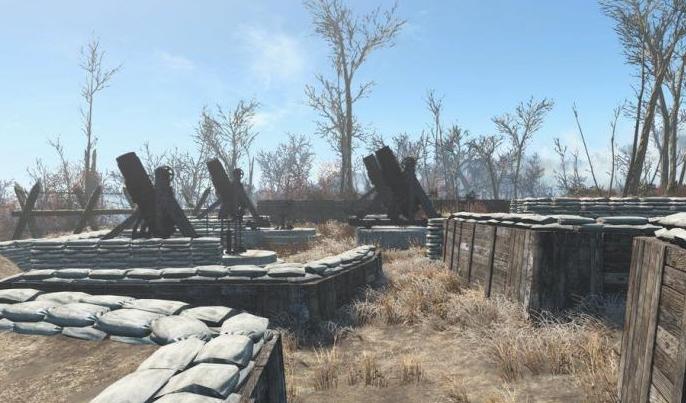 """Fallout 4 """"Артиллерийский обстрел"""""""