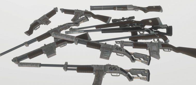 Декоративное Оружие (Расширенный ретекстур)