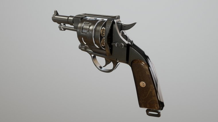 Ducal Guard Service Revolver