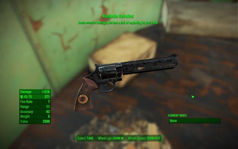 Roulette Revolver