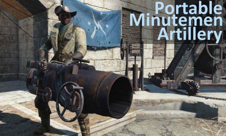 Портативное орудие минитменов -PortableMinutemenArtillery