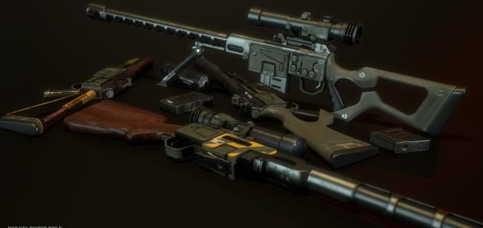 Снайперская винтовка DKS-501